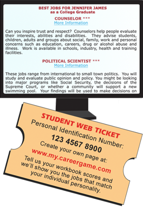 Student Web Ticket